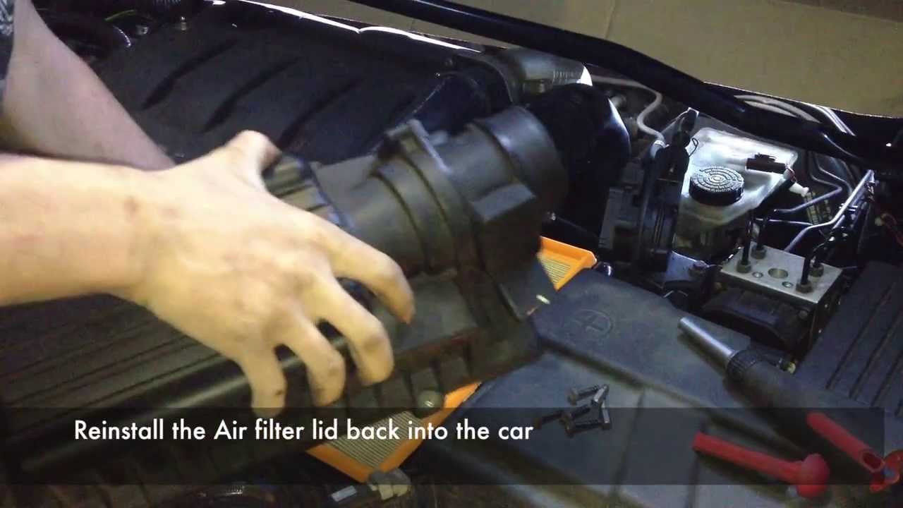 how to open peugeot 407 gas cap