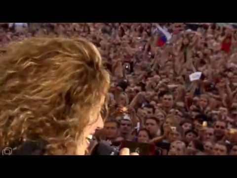 Download Shakira - Estoy aqui - live at Krasnoye Leto Festival - Moscow - 2006
