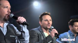 98 degrees performs because of you