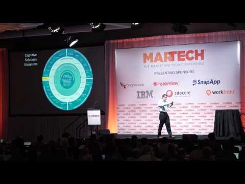 MarTech US 2016 - Cognitive Marketing: The Rise Of The Super Intelligent Marketer - Gerry Murray