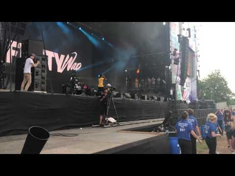 Fetty Wap ft Monty Trap Queen live 2017