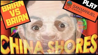 Brian VS Brian on China Shores ✦ COMPETITION ✦ San Manuel Casino w Brian Christopher #AD