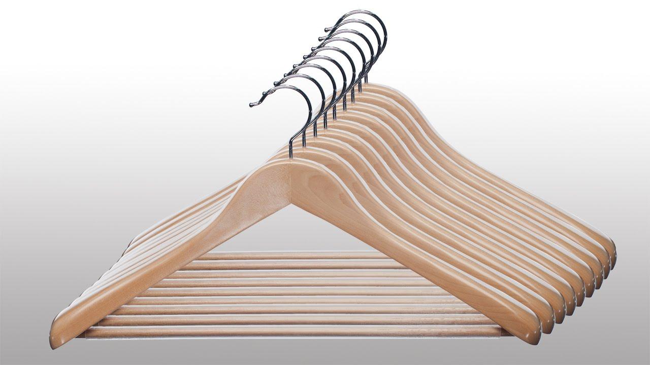 Image result for wooden-hangers