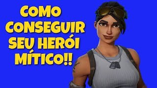 FORTNITE SAVE THE WORLD-TIPS FOR BEGINNERS #5! HOW TO GET YOUR MYTHICAL HERO!!