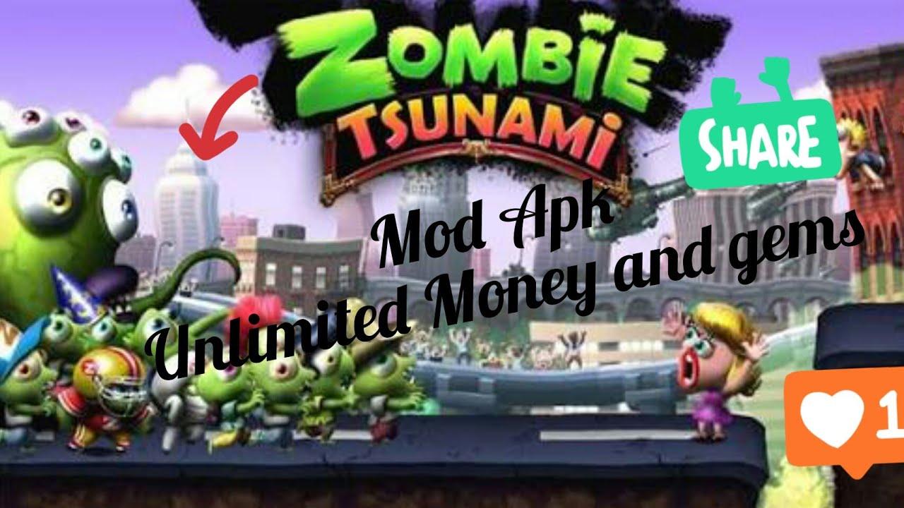 download game zombie tsunami mod apk terbaru