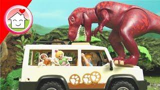 Playmobil Film deutsch - Dinosaurier Safari - Familie Hauser Spielzeug Kinderfilm