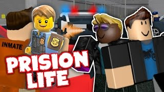 THEY STOP US Roblox Prision Life