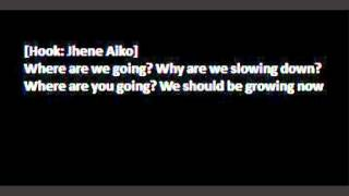 Kendrick Lamar - Growing Apart feat. Jhene Aiko (Lyrics on Screen)