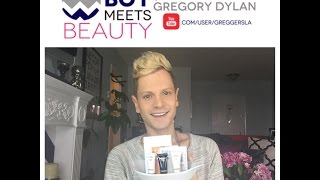 My Skin Care Sample Stash!   New Products I Am Testing!   Boy Meets Beauty with Gregory Dylan