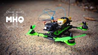 Hovership MHQ - 3D Printed Foldable Micro H-Quad FPV