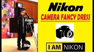 Nikon camera fancy dress for kids speech / camera / kids fancy dress costume