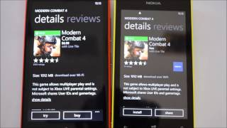 How to Install the Free Games from Gameloft on Lumia 525
