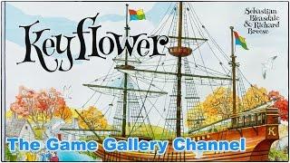 【ボードゲーム レビュー】「Keyflower」- Keyシリーズの傑作