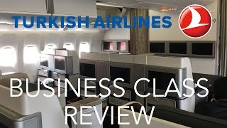 Turkish Airlines Business Class 777-300ER - Istanbul to Houston TK33