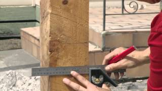 How To Install A Plinth And Rails For A Picket Fence - DIY At Bunnings