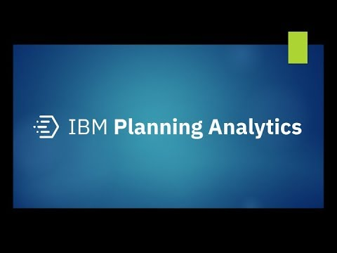 IBM Planning Analytics Workspace 2 0 39 Upgrade - includes Planning  Analytics Administration Install