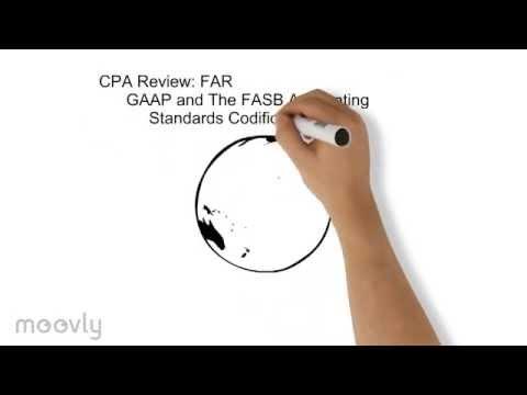 GAAP, FASB Codification - CPA FAR Review