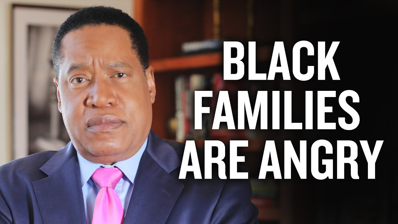 Why Black Families Are Angry At Urban Public Education   Larry Elder