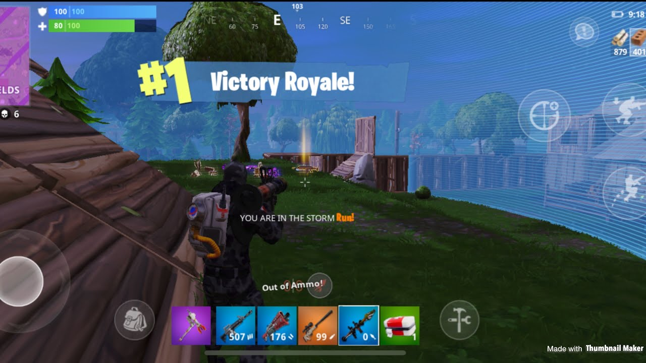 Fortnite Mobile Is Extremely Hard First Ever Fortnite Mobile Win