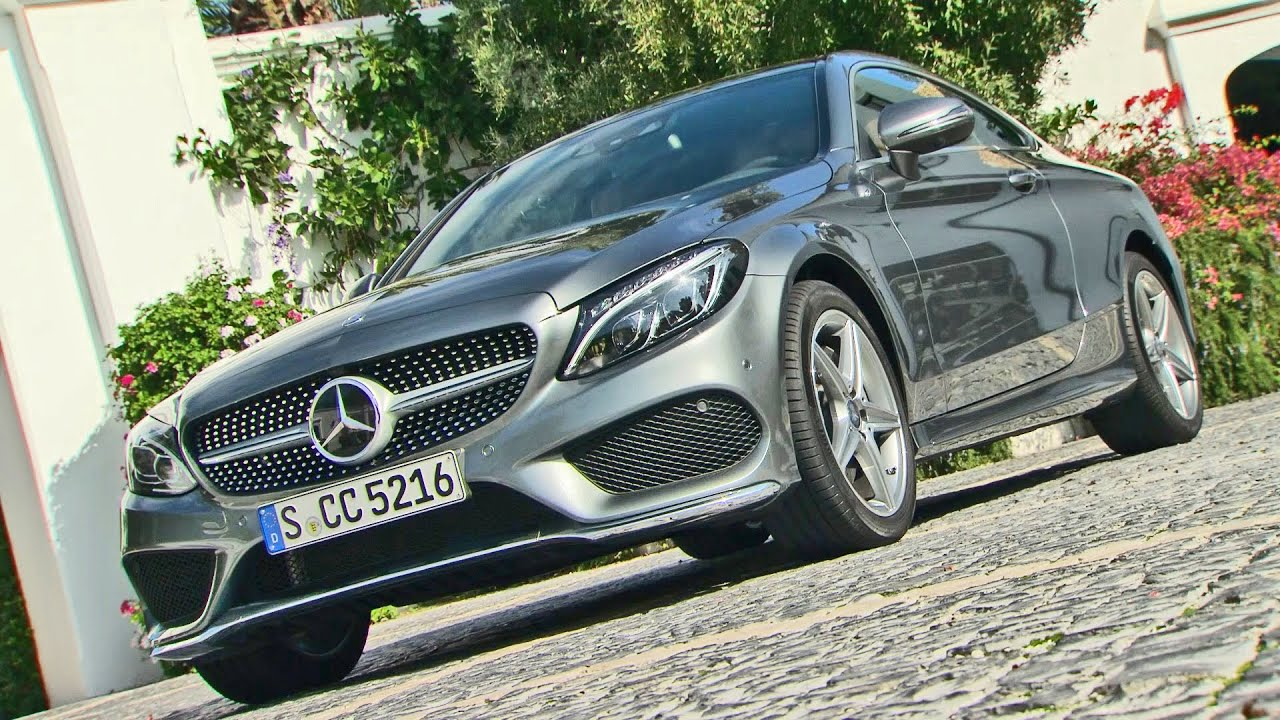 ▻ 2016 mercedes c-class coupe (c 250 d) - footage - youtube