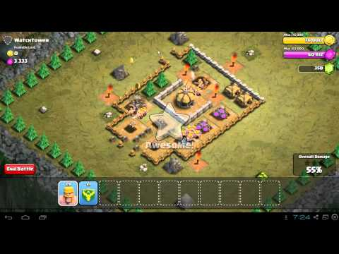 Clash of Clans Watchtower Strategy Guide & 3 Star Walkthrough