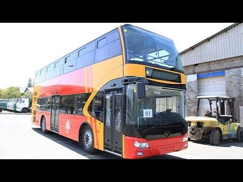 Ethiopia: Double-decker school buses manufactured by METEC to serve students in Addis Ababa City