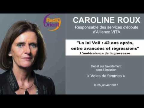 L'ambivalence de la grossesse - Caroline Roux sur Radio Orient