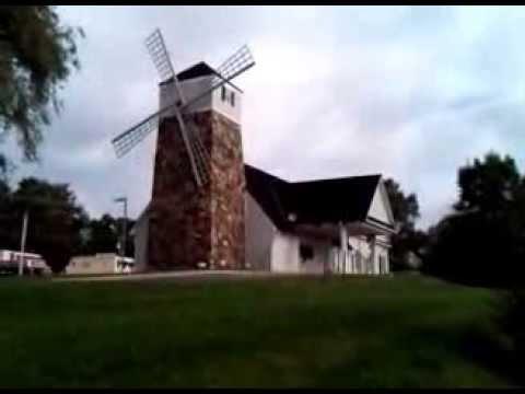 Landmark Windmill in Old Downtown Mechanicsville, Hanover County, Virginia