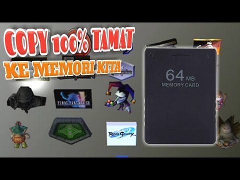 CARA COPY SAVE GAME PS2 DARI INTERNET KE MEMORI SAVE GAME PS2