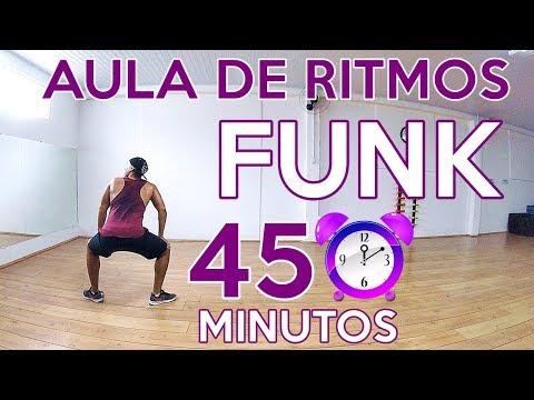 PERCA CALORIAS EM 45 MINUTOS DE AULA DE RITMOS (FUNK) PERCA PESO | PERCA CALORIAS