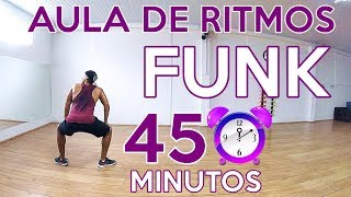 PERCA CALORIAS EM 45 MINUTOS DE AULA DE RITMOS (FUNK) PERCA PESO | PERCA CALORIAS YouTube Videos