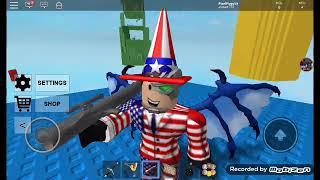 Pixel America vs battle of doom.roblox dsbb