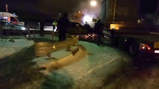 Смотреть видео CrashNews.org/Санкт-Петербург 21.03.2018 онлайн