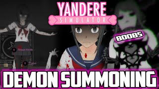 HOW to SUMMON a DEMON in YANDERE SIMULATOR success* | Yandere Simulator OCCULT CLUB RITUAL | Yandere