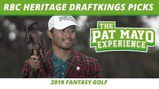 2019 Fantasy Golf Picks - RBC Heritage DraftKings Picks, Preview, Sleepers
