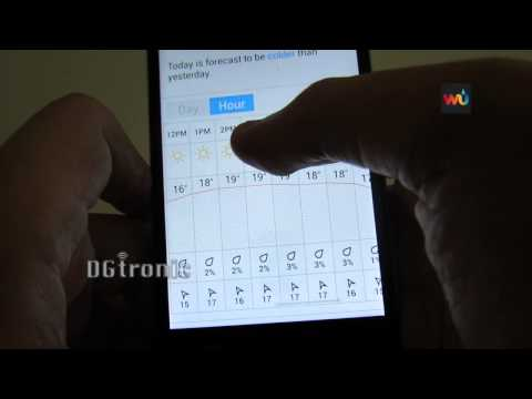 Android App Review -  Weather Underground