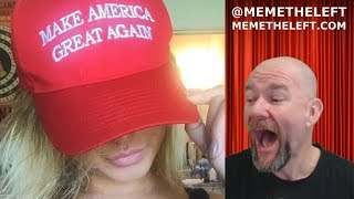 MAGA HAT EXPOSES ANOTHER LEFTIST BIGOT