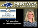 Sara Schaub Montana State University Volleyball Aug 26th 08