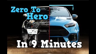 Building a Widebody Focus RS in 9 Minutes: WRC inspired Track Car