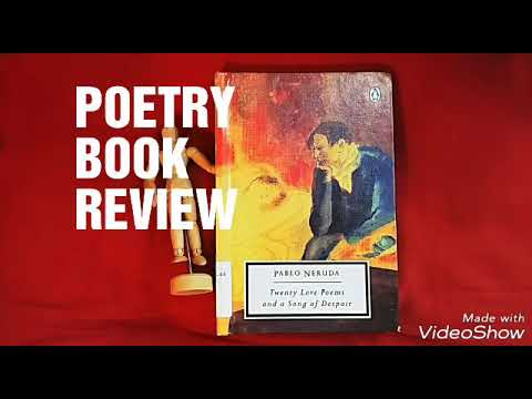 Twenty Love Poems and a Song of Despair  Pablo Neruda Poetry Book Review