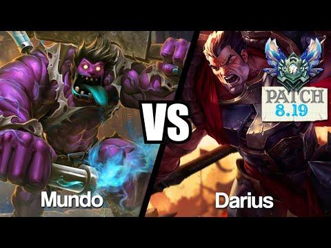 Vidéo d'Alderiate : [FR] MUNDO VS DARIUS - EN RETARD SUR MA LANE - 8.19 - DIAMANT 1