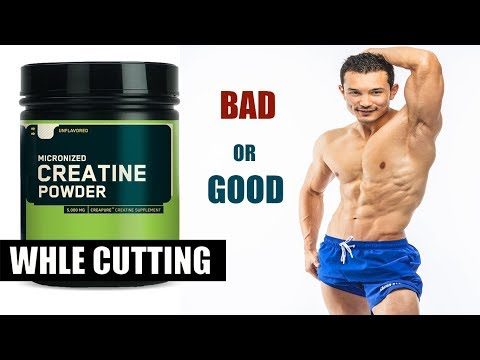 CREATINE ON CUTTING (क्रेटीने और कटिंग)- Does Water Retention |Causes Bloating|