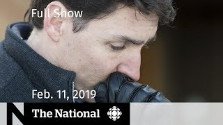 The National for February 11, 2019 — Sports Abuse, Ethics Probe, Polar Bear 'Occupation'
