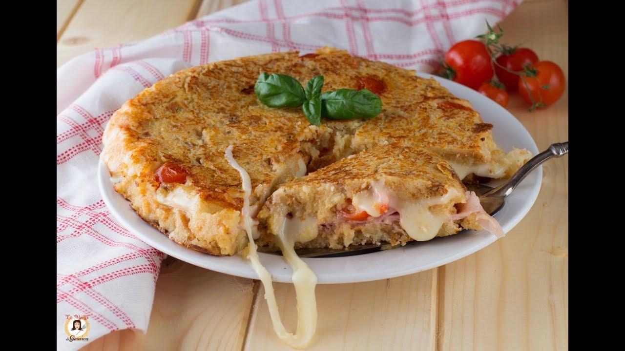 Torta Di Pane Raffermo In Padella Ricetta Furba Veloce E Facile