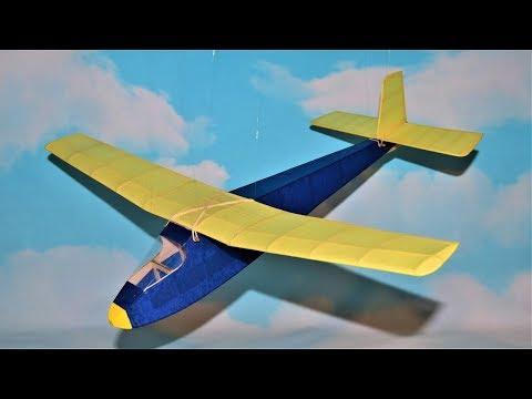 Osprey Sports Glider Balsa Wood Kit The Vintage Model Company