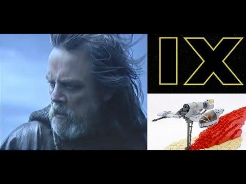 Star Wars News: Does Luke Have Vader's Crystal? / Episode 9 Release Date! / Ship Models
