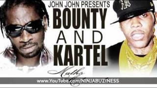 BOUNTY KILLER & VYBZ KARTEL - MATHS AUTOMATIC (TIME BOMB RIDDIM)
