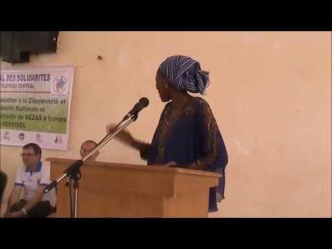 Cérémonie d'ouverture du FESTISOL REZAS Ziniaré Plateau central Burkina faso 24 oct 2017