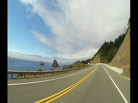 Road Trip on U.S. Highway Route 101
