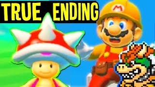 Super Mario Maker 2 - TRUE ENDING After the Game is OVER Secret Levels + All Endings